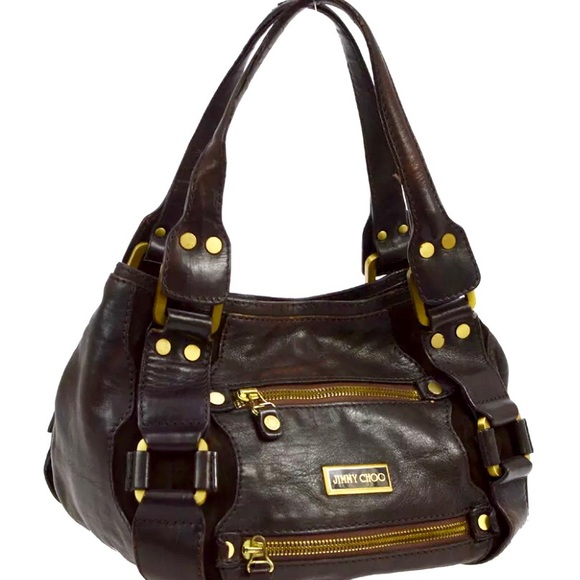 Sale Jimmy Choo Maddy Bag Leather Suede